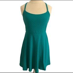 Teal Summer Dress Sz M Mossimo